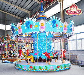 16P Ocean Carousel Rides for sale by Sinorides