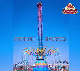 China reliable 32m Star Flyer Ride for sale