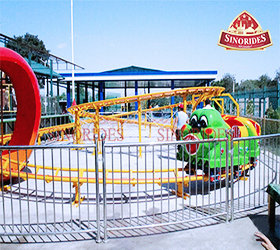 Sinorides Wacky Worm Roller Coaster for sale