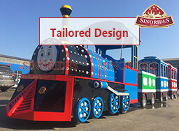 Sinorides Trackless Train for Sale