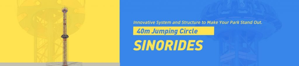 Sinorides 40M Drop Tower Ride For Sale