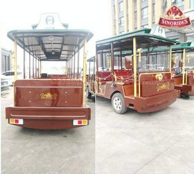 Sinorides Dingding Electric sightseeing car details