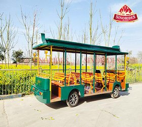 Sinorides Green Electric Sightseeing Car details
