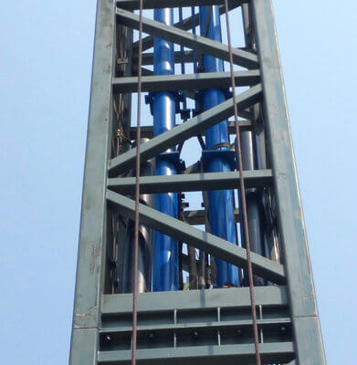 Hydraulic cylinder of Sinorides Tower Rides For Sale