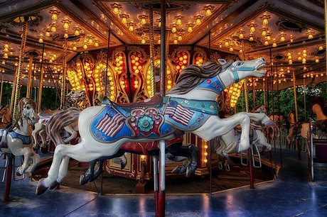 carousel rides for sale image